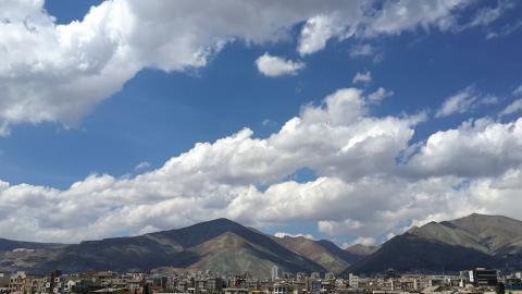 تهران و کوه های شمال شهر