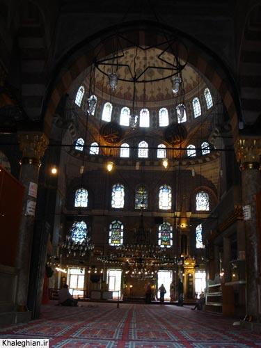 """نمای داخلی مسجد """"سلیمانیه"""""""