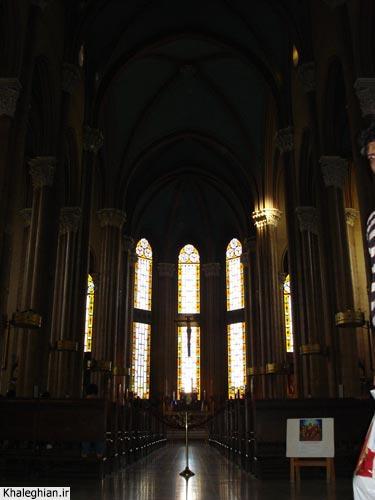 """نمای درونی کلیسای بزرگ """"سن آنتونیو"""""""