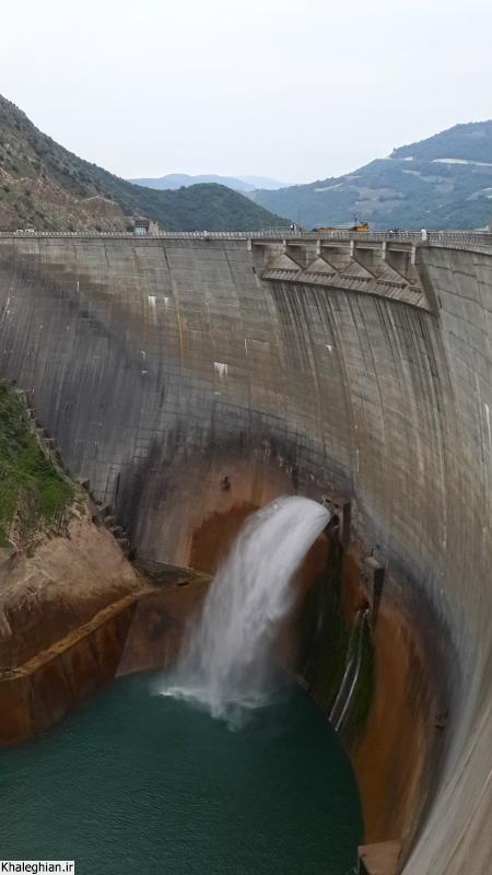 سد عظیم سلیمان تنگه با ارتفاع حدود 150 متر